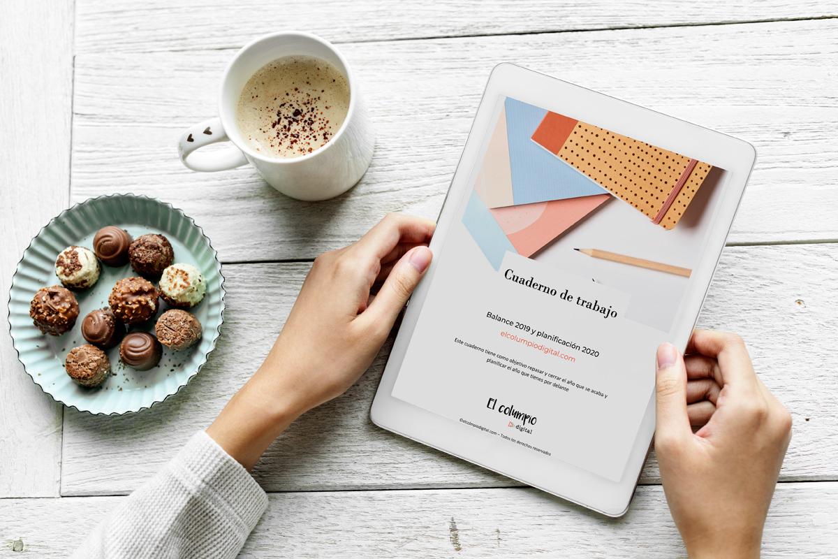 Cuaderno de trabajo analiza 2019, planifica 2020 para ecommerce