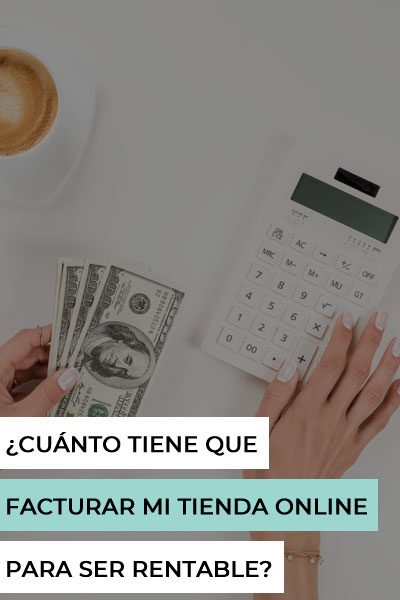 como calcular facturación tienda online